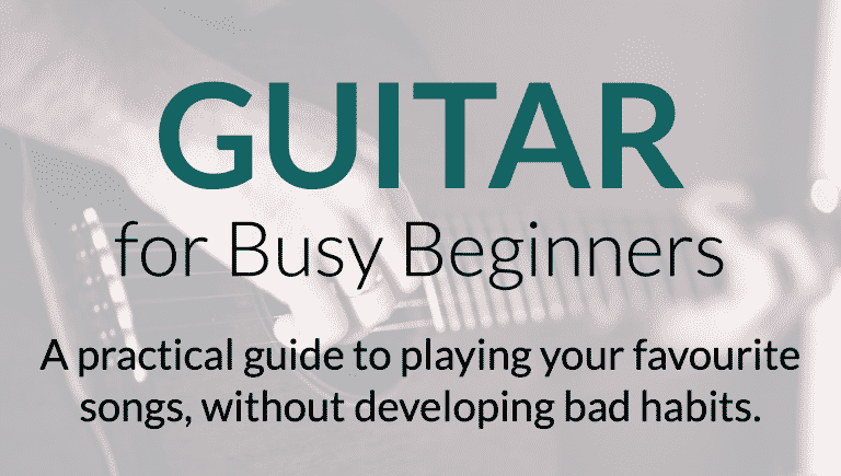 guitar for busy beginners
