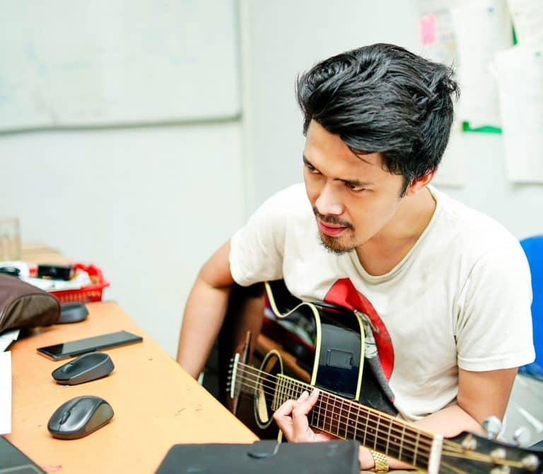 self teaching guitar